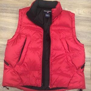 Retro Polo Sport Winter Vest